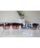 Vintage Tortoise Sunglasses Sangria Red/ Steel ... - $20.00