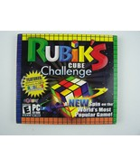 Rubik's Cube Challenge PC Software Game CD-ROM NEW Sealed - $12.96
