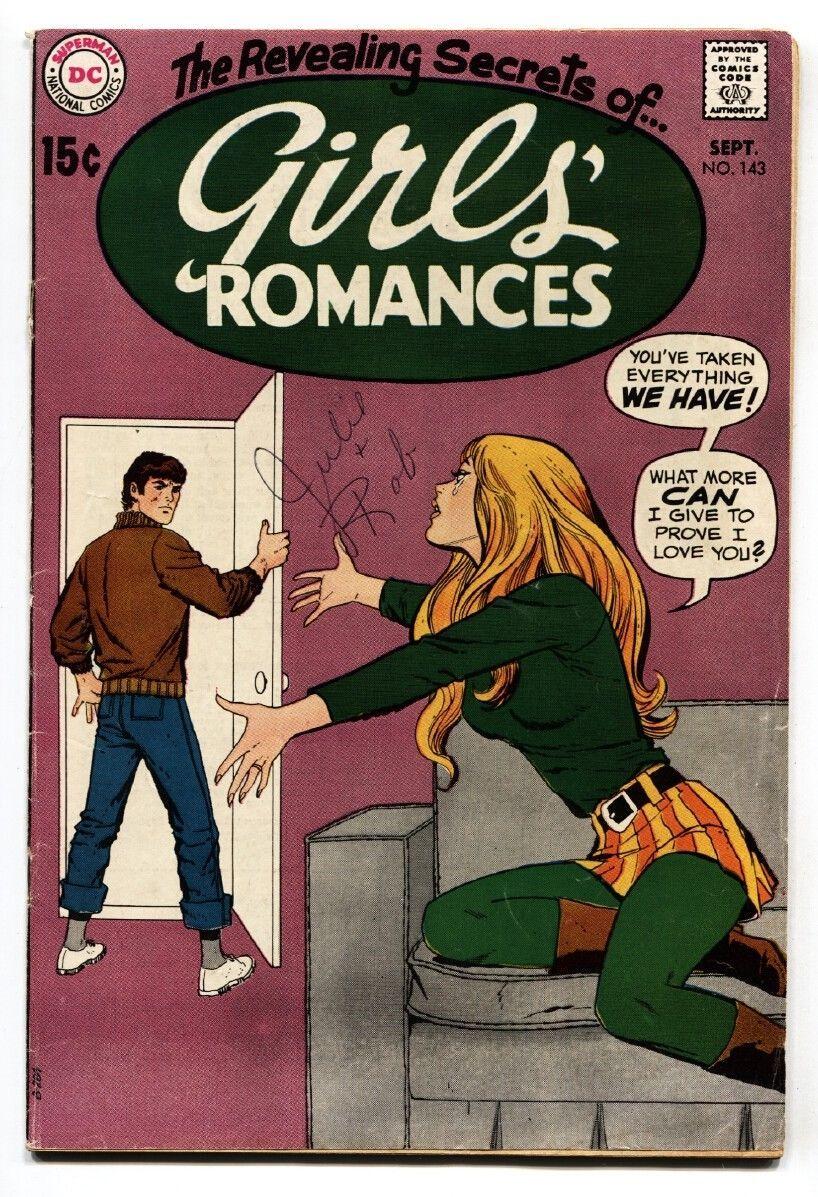 GIRLS ROMANCES #143-DC ROMANCE-comic book 1969 - $37.83