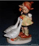 """Goose Girl"" Goebel Hummel Figurine #47/0 TMK1 Incised Crown - RARE ANTI... - $290.99"