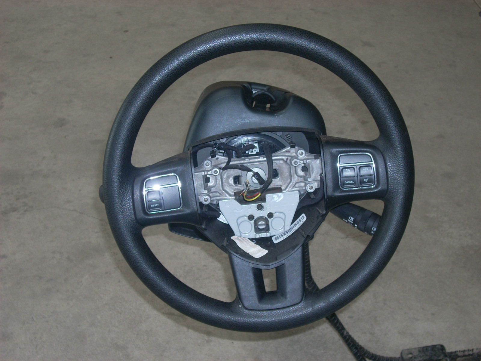 2011 DODGE AVENGER STEERING WHEEL