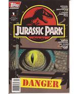 Topps Jurassic Park #1 of 4 Official Comics Movie Adaptation VF/NM Horror - $9.95