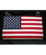 Patriotic Liberty Flag Handmade Magnetic Shell for Classic Base Bag Shel... - $34.99