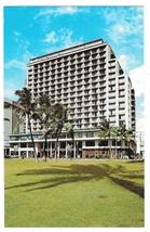 Hawaii Outrigger East Hotel Waikiki Vintage Postcard - $4.74