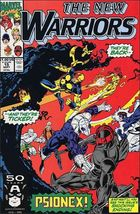 Marvel THE NEW WARRIORS (1990 Series) #15 VF+ - $0.99