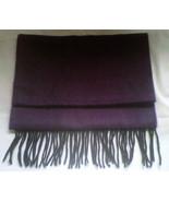"Purple scarf, 64"" x 12"" - $12.50"
