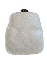 Vtg Walborg Clutch white beaded Handbag Purse Made in Belgium - $39.98
