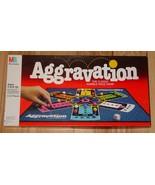 AGGRAVATION MARBLE RACE GAME 1989 MILTON BRADLEY COMPLETE EXCELLENT - $15.00