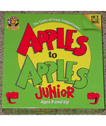 APPLES TO APPLES JUNIOR CARD GAME OUT OF THE BOX GAMES excellent condition - $10.00