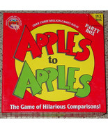 APPLES TO APPLES PARTY BOX GAME 2007 OUT OF THE BOX 8 PACKS FACTORY SEAL... - £11.98 GBP