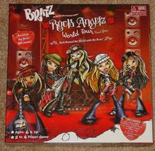 BRATZ ROCK ANGELZ WORLD TOUR BOARD GAME MGA ENTERTAINMENT COMPLETE VG - $20.00