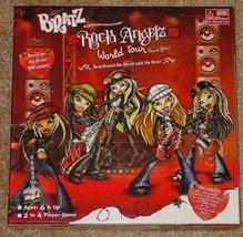 BRATZ ROCK ANGELZ WORLD TOUR BOARD GAME MGA ENTERTAINMENT COMPLETE VG - $20.00