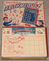 ARITHMEQUIZ ARITH MAGIC BY JAYMAR ARITHMATIC MADE EASY COMPLETE VINTAGE ... - $25.00