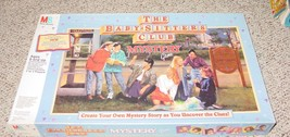 BABYSITTERS CLUB MYSTERY GAME 1992 MILTON BRADLEY COMPLETE EXCELLENT - $30.00
