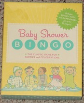 Baby Shower Bingo Game 2008  Complete New In Box Unused Excellent Condition - $4.00