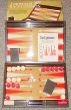 BACKGAMMON GAME TOURNAMENT 1973 ES LOWE COMPLETE MILTON BRADLEY EXCELLENT - $15.00