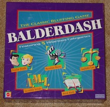 BALDERDASH BLUFFING GAME 2003 MATTEL GAMEWORKS ... - $12.00