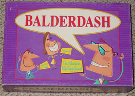 BALDERDASH HILARIOUS BLUFFING GAME PARKER BROTH... - $20.00