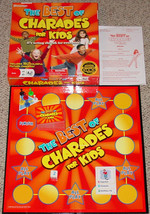 BEST OF CHARADES FOR KIDS GAME PRESSMAN 2008 COMPLETE EXCELLENT - $15.00