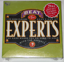BEAT THE EXPERTS GAME 2002 UNIVERSITY GAMES NEW FACTORY SEALED BOX  - $25.00