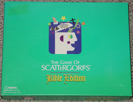 BIBLE EDITION GAME OF SCATTERGORIES 2002 HASBRO COMPLETE UNUSED COMPLETE - $15.00