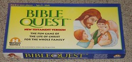 BIBLE QUEST NEW TESTAMENT GAME 1997 HORIZON GAMES COMPLETE EXCELLENT - $20.00