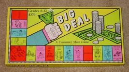 BIG DEAL CONSUMER MATH GAME GRADES 6 TO 12 #4370 1983 CREATIVE TEACHING ... - $20.00