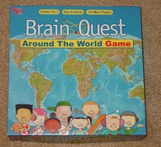 BRAIN QUEST AROUND THE WORLD GAME 2006 UNIVERSITY GAMES COMPLETE EXCELLENT - $18.00
