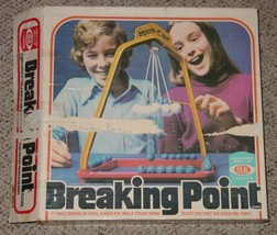 BREAKING POINT GAME 1976 IDEAL TOY COMPLETE EXCELLENT - $25.00