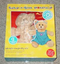 Build A Bear Workshop Special Edition 2011 Colorbok Make & Play Nib Unused Compl - $20.00