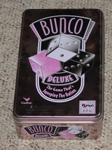 BUNCO DELUXE DICE GAME tin 2004 CARDINAL COMPLETE EXCELLENT - $30.00