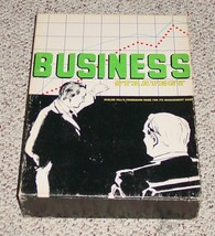 BUSINESS STRATEGY BOOKCASE GAME 1973 AVALON HILL EXCELLENT COMPLETE - $20.00