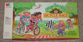 CABBAGE PATCH KIDS BICYCLE RACE GAME  MILTON BRADLEY COMPLETE EXCELLENT - $30.00