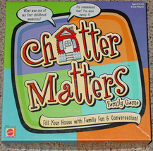 CHATTER MATTERS FAMILY GAME 2000 MATTEL EXCELLENT COMPLETE PLAYED ONCE - £18.30 GBP