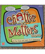 CHATTER MATTERS FAMILY GAME 2000 MATTEL EXCELLENT COMPLETE PLAYED ONCE - $25.00