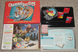 CHANNEL SURFING GAME Milton Bradley 1994 Factor... - $30.00