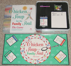 CHICKEN SOUP FOR THE FAMILY SOUL THE GAME NEW OPEN TIN SEALED PARTS CARD... - $25.00