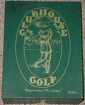 CLUBHOUSE GOLF GAME EXPERIENCE THE GAME 1991 COMPLETE MADE IN USA - $32.00