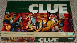 CLUE CLASSIC DETECTIVE GAME 2002 PARKER BROTHERS COMPLETE EXCELLENT - $15.00