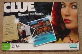 CLUE DISCOVER THE SECRETS GAME PARKER BROTHERS HASBRO 2008 COMPLETE  UNUSED - $15.00