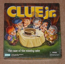 CLUE JR CASE OF THE MISSING CAKE GAME 2003 PARKER BROTHERS COMPLETE - $15.00