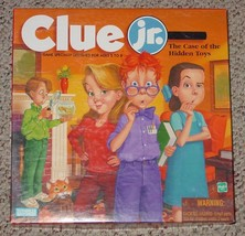 CLUE JR GAME CASE OF THE HIDDEN TOYS PARKER BROTHERS 1999 COMPLETE EXCEL... - $20.00