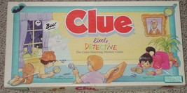 CLUE LITTLE DETECTIVE GAME 1992 PARKER BROTHERS COMPLETE - $15.00