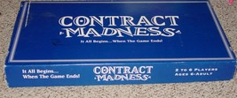 CONTRACT MADNESS GAME JMC COMPLETE EXCELLENT NIB SEALED PARTS - $25.00