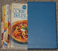 COOKBOOK PILLSBURY COOKBOOK COLLECTION 13 COOK BOOKS & CASE SEE DESCRIPTION - $15.00