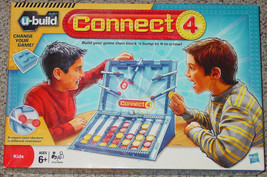 CONNECT 4 U-BUILD 4 IN A ROW GAME 2010 HASBRO C... - $30.00