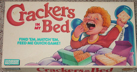 CRACKERS IN MY BED GAME 1987 PARKER BROTHERS COMPLETE - $20.00
