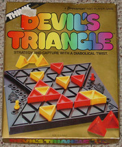 Devils Triangle Puzzle Game Pressman Strategy Game 1986 Complete & Excellent - $20.00