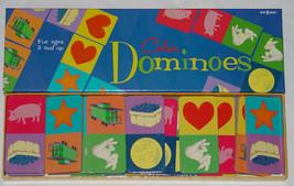 DOMINOES 28 COLOR DOMINO GAME  EEBOO 2004 COMPLETE EXCELLENT NIB - $25.00