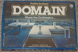 DOMAIN GAME WHERE THE CHALLENGE IS 1983 PARKER BROTHERS VINTAGE COMPLETE - $15.00